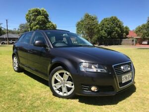 2010 Audi A3 8P MY10 TFSI Sportback S tronic Ambition Grey 7 Speed Sports Automatic Dual Clutch Somerton Park Holdfast Bay Preview