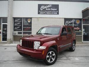 2008 Jeep Liberty Sport**CERTIFIED** WE FINANCE**