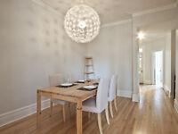 Plateau: design tout meublé, équipé - Métro Mt-Royal - 1er dec