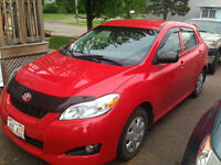 2009 Toyota Matrix- $500 off if sold this week
