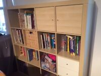 Storage Unit - a very versatile unit for files, books or other items. Can be used with IKEA baskets.