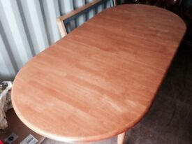 Dining Table - Wooden Extendable