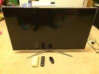 "Samsung Series 6 UE48H6400AK 48"" 3D 1080p HD 3D LED SMART TV."