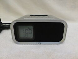 iHome iH22 Colortunes iPod Docking Station Dual Alarm Clock  Silver