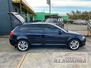 2012 Audi A3 8P MY12 Sportback 1.8 TFSI Ambition Black 7 Speed Auto Direct Shift Hatchback Barrack Heights Shellharbour Area Preview