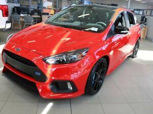 2018 Ford Focus RS, 600A, SYNC3, NAV, REAR CAMERA, MOONROOF, CRU