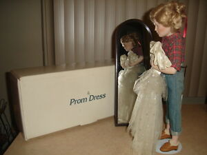 "DANBURY MINT - "" PROM DRESS "" - SATURDAY EVENING POST -  $129.99"