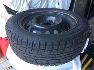 new winter tires with rims 225/50 R17 Cambridge Kitchener Area image 2