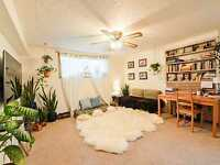 Clean, Bright, Room for Rent in basement, near U of A!!!