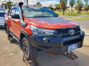 2018 Toyota Hilux GUN126R Rugged X Double Cab 6 Speed Sports Automatic Utility Beresford Geraldton City Preview
