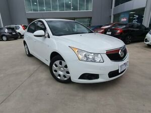 2012 Holden Cruze JH Series II MY12 CD White 6 Speed Sports Automatic Hatchback Ravenhall Melton Area Preview