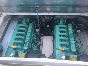 Volvo Penta 165HP Turbo Diesels (x 2) including Legs Castle Hill The Hills District Preview