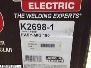 Lincoln Electric MIG Pak 180 Wire Feed Welder - Open Box