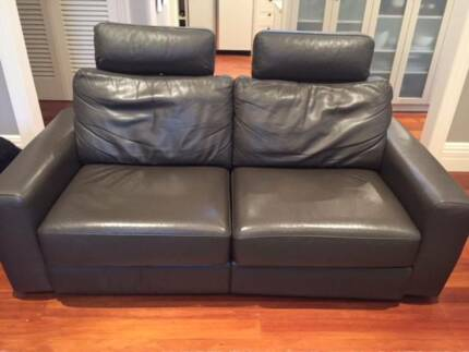 King Dream Recliner Leather Sofa