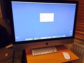 Apple iMac 27-inch (Mid 2011) Highest spec - 32GB Ram / 3.4 HGz intel Core i7 / 2TB HD