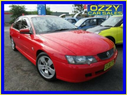 2003 Holden Commodore VY SV8 Red 4 Speed Automatic Sedan Minto Campbelltown Area Preview