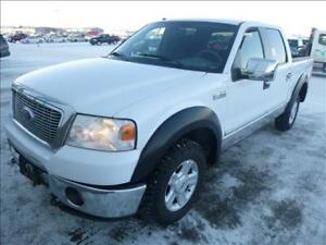 "2008 FORD F-150 4X4 SUPERCREW 139""-ONE OWNER TRUCK-5.4L V8 FLEX"