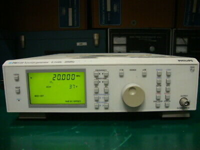 Philipsfluke Pm5139003 Programmable Function Generator 0.1mhz - 20mhz