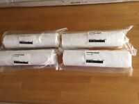 Water filter cartridge, 10 inch 5 micron, factory sealed & unopened x 4