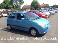 2007 (56 Reg) Chevrolet Matiz 1.0 SE 5DR Hatchback BLUE + LOW MILES