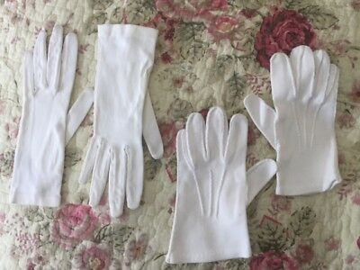 Vintage Children's (or very small) White Gloves