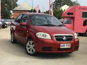 2009 Holden Barina TK MY09 Red 4 Speed Automatic Sedan South Toowoomba Toowoomba City Preview