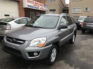 2009 Kia Sportage LX ALL WHEEL DRIVE