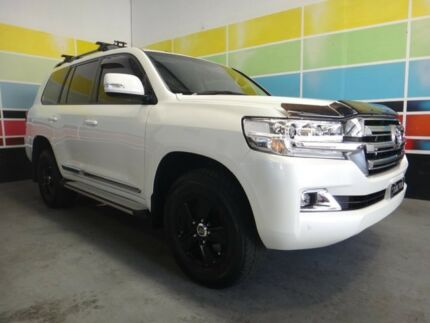 2017 Toyota Landcruiser VDJ200R MY17 LC200 Altitude Special Edition Pearl White 6 Speed Automatic Wangara Wanneroo Area Preview