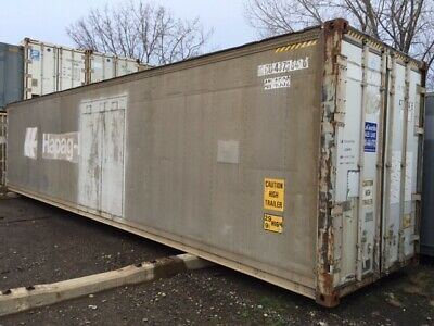 40 High Cube Insulated Shipping Container Seabox Reefer Conex Hc Cw