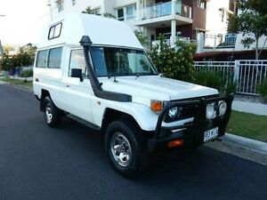 1998 Toyota Landcruiser HZJ75RV White 5 Speed Manual Hardtop Redcliffe Redcliffe Area Preview