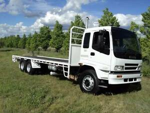 ISUZU FVY WITH NEW 8.6M TRAY Armidale City Preview
