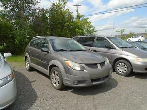 2003 Pontiac Vibe GT-ONE OWNER-RUSTPROOFED-DEALER SERVICED!