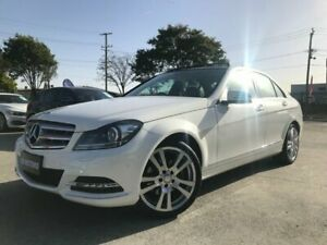 2013 Mercedes-Benz C250 W204 MY13 Avantgarde BE White 7 Speed Automatic G-Tronic Sedan Coopers Plains Brisbane South West Preview