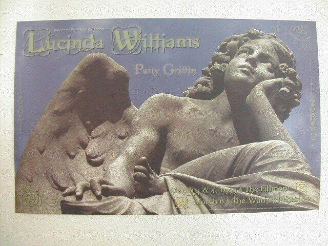 Lucinda Williams Patty Griffin HandBill Poster Fillmore