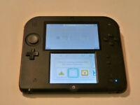 *****RED NINTENDO 2DS IN THE BOX + MANY GAMES AVAILABLE*****