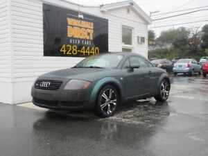 2002 Audi TT COUPE 6 SPEED QUATTRO 1.8 L