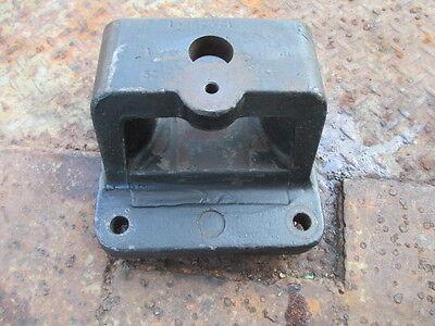 1983 International Diesel 5288 Farm Tractor Draw Bar Support Bracket Anchor