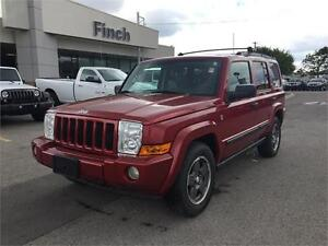 2006 Jeep Commander***Leather,Sunroof,4x4,Htd Seats***
