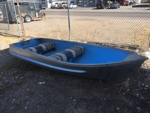 12 ft Sears Aluminum Boat with Padded Seats