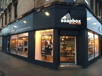Junior Graphic Designer for Glasgow Southside store