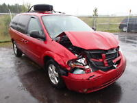 parting out 2006 dodge caravan