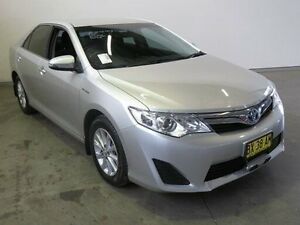 2013 Toyota Camry AVV50R Hybrid H Silver Pearl Continuous Variable Sedan Westdale Tamworth City Preview