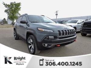 2014 Jeep Cherokee Trailhawk Heated Leather Back-Up Cam NAV