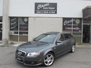 2008 AUDI A4 2.0T S-LINE WAGON *LEATHER,SUNROOF,ALL WHEEL DRIVE*