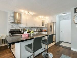 Why Rent If You Can Own Upgraded 4 B/R,2 W/R Condo at Bloor/Dixi