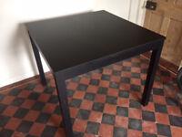 IKEA Square black bar table