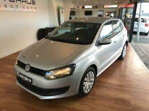 2014 Volkswagen Polo 6R MY14 Trendline Silver 7 Speed Auto Direct Shift Hatchback Batemans Bay Eurobodalla Area Preview