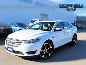 2015 Ford Taurus SEL, LEATHER, AWD, PARK ASSIST, BACKUP CAMERA