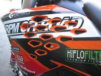KTM 125 EXC 2009 ENDURO ROAD REGISTERED MX MOTOCROSS BIKE @ RPM OFFROAD