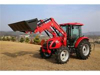 2015 TYM 754 Tractor w. Cab & Loader and DEUTZ Engine (NO GST)